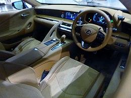 """Lexus LC500h""""S package"""" (DAA-GWZ100-ACVBB) interior.jpg"""