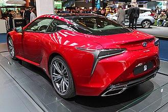 Lexus LC - Image: Lexus LC 500h Back IMG 0402
