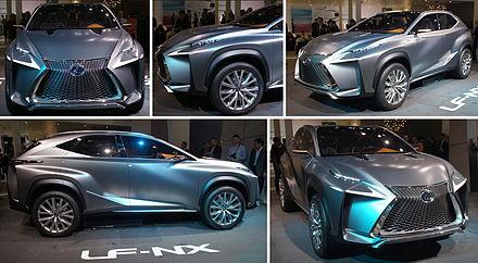Lexus LF NX At Frankfurt Motor Show, 2013