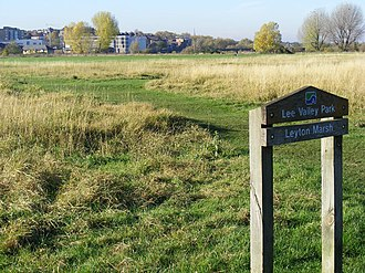 Leyton Marshes - Part of Leyton Marsh, restored after use for the 2012 Olympics