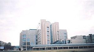 Neighborhoods and suburbs of Novi Sad - Liman 3, NIS-NAFTAGAS building