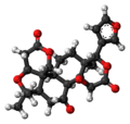 Limonin molecule ball.png