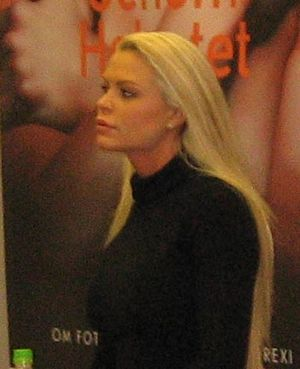 Linda Thelenius - Thelenius at the 2006 Gothenburg book fair