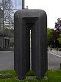 Linz-StMagdalena - Universitätspark - Lichttor - von Hiromi Akiyama.jpg