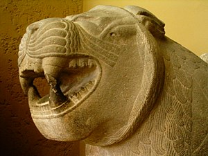 Sam'al - A lion of Sam'al, now in the Pergamon Museum