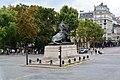Lion de Belfort, Place Denfert-Rochereau, Paris 24 August 2013.jpg