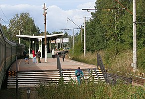 Lisy Nos railway station