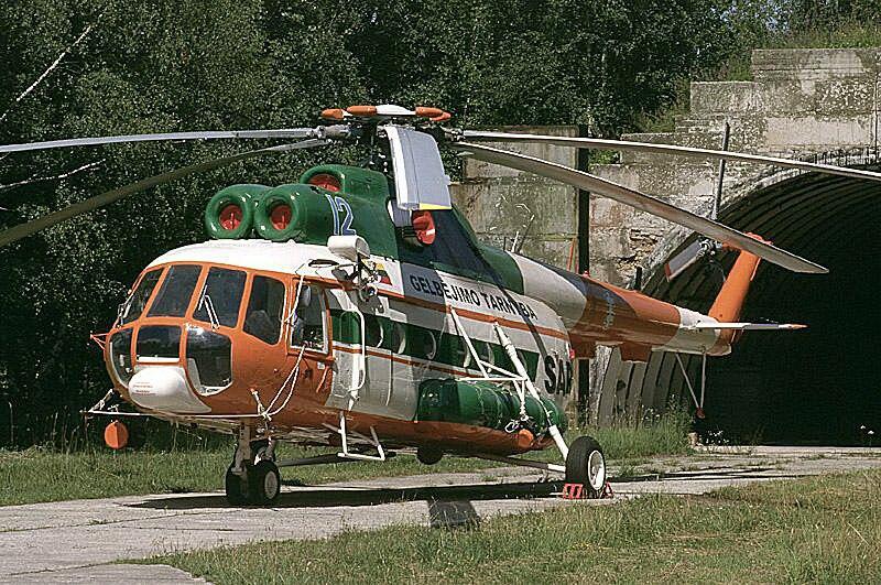 Lithuanian Air Force SAR Mi-8T
