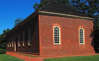 Little Fork Church - Little Fork Church: South-east View
