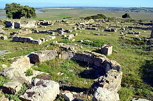 Lixus (ancient city) - The ruins of Lixus