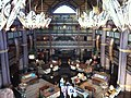 Lobby of Jambo House, Disney's Animal Kingdom Lodge, Orlando, FL.JPG