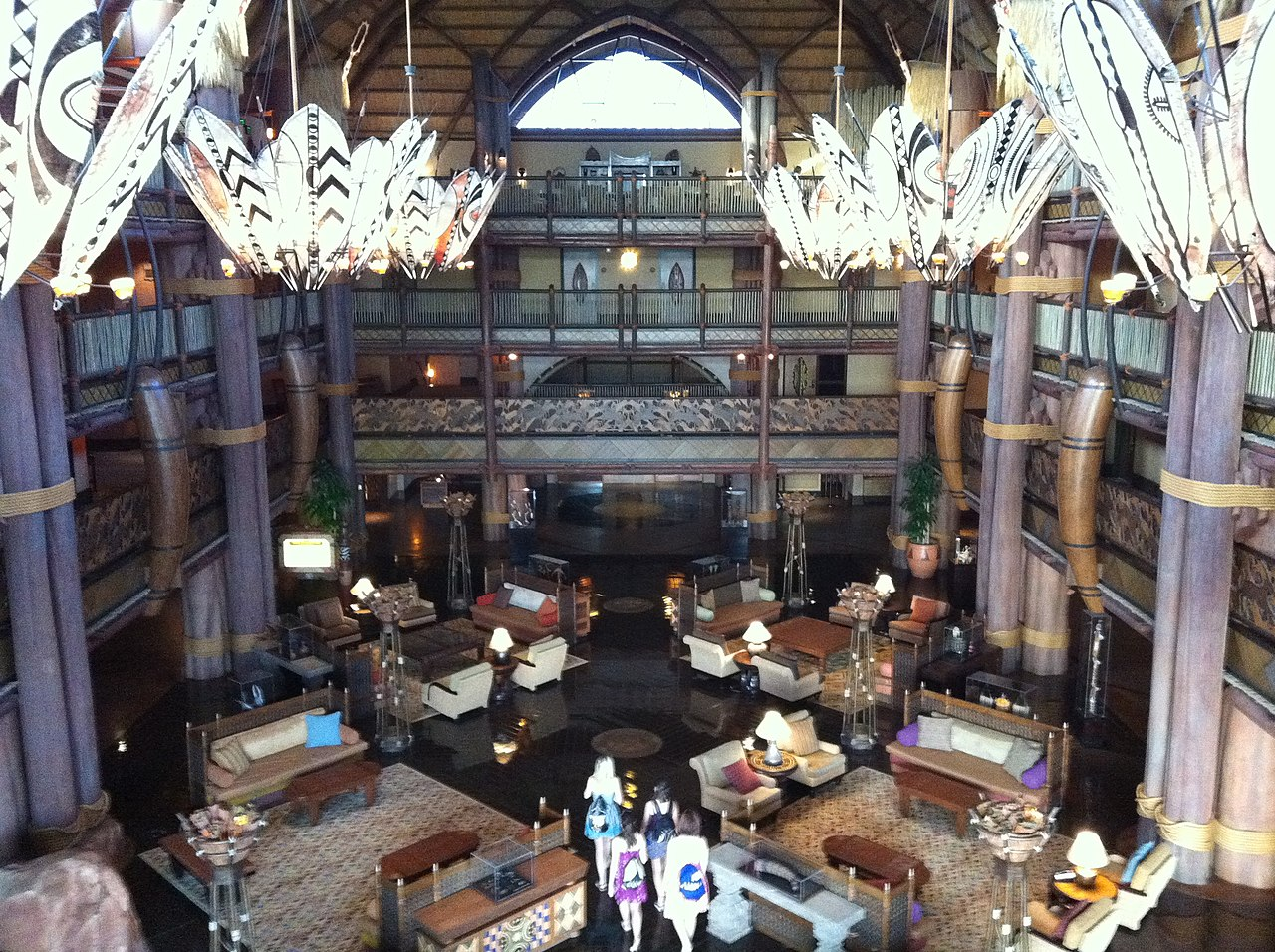 File:Lobby Of Jambo House, Disney's Animal Kingdom Lodge