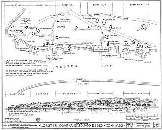 Annisquam, Massachusetts - Lobster Cove c. 1820