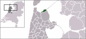 Den Oever - Image: Locatie Wieringen