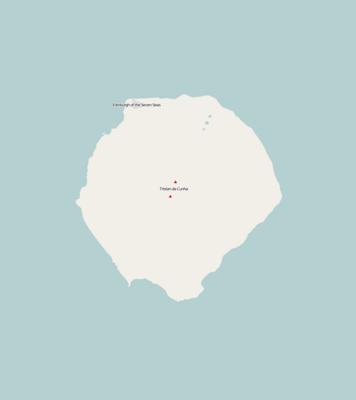TemplateLocation Map United Kingdom Tristan Da Cunha Wikipedia - Tristan da cunha map