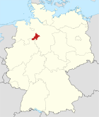 Locator map NI in Germany.svg
