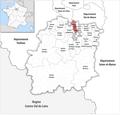 Locator map of Kanton Savigny-sur-Orge 2019.png