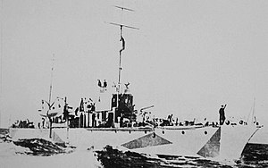 Romanian Navy during World War II - Romanian gunboat Stihi