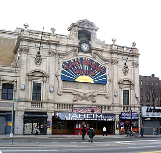 Paradise Theater (Bronx) Former theater and concert venue in the Bronx, New York