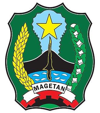 Magetan Regency - Image: Logo Kabupaten Magetan Vector