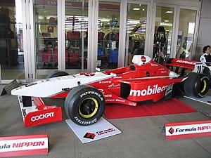 Yuji Ide - Ide's 2005 Formula Nippon Lola.