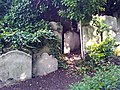 London-Woolwich, St Mary's Gardens, gravestones.jpg