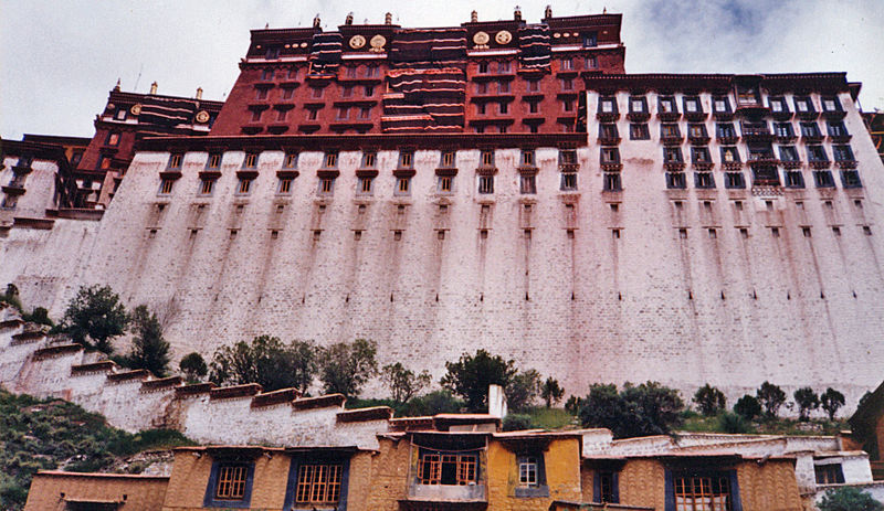 File:Looking up at the Potala.jpg