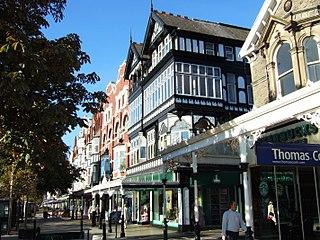 Southport town in the Metropolitan Borough of Sefton, England