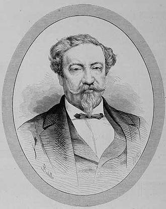 Lorenzo Montúfar y Rivera - Doctor Lorenzo Montúfar y Rivera in 1876 when he was Minister Plenipotentiary of Guatemala in Madrid