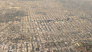 Koreatown, Los Angeles - Aerial view in 2014
