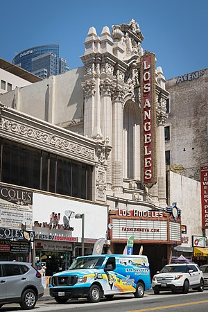 Broadway Theater District (Los Angeles) - Los Angeles Theatre