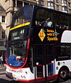 Lothian Buses bus 745 Volvo B7TL Wrightbus Eclipse Gemini SN55 BOU Harlequin livery Route 44 Service with a Sparkle route branding.jpg