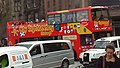 Lothian Buses open top tour bus Dennis Trident SLF Alexander ALX400 City Sightseeing livery, January 2007.jpg
