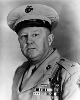 highly decorated Major General in the United States Marine Corps during World War II