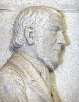 Louis Tregardt - Relief of Tregardt in the Voortrekker Monument, Pretoria