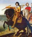 Louis XIII Richelieu devant La Rochelle.png