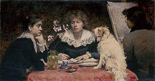 A Portrait-Group of Friends