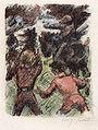 Lovis Corinth Wilhelm Tell Tell rettet Baumgarten vor den Reitern des Landvogts.jpg