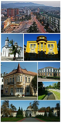 Loznica- collage of image