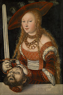 Lucas Cranach the Elder - Judith with the Head of Holofernes - Google Art Project.jpg