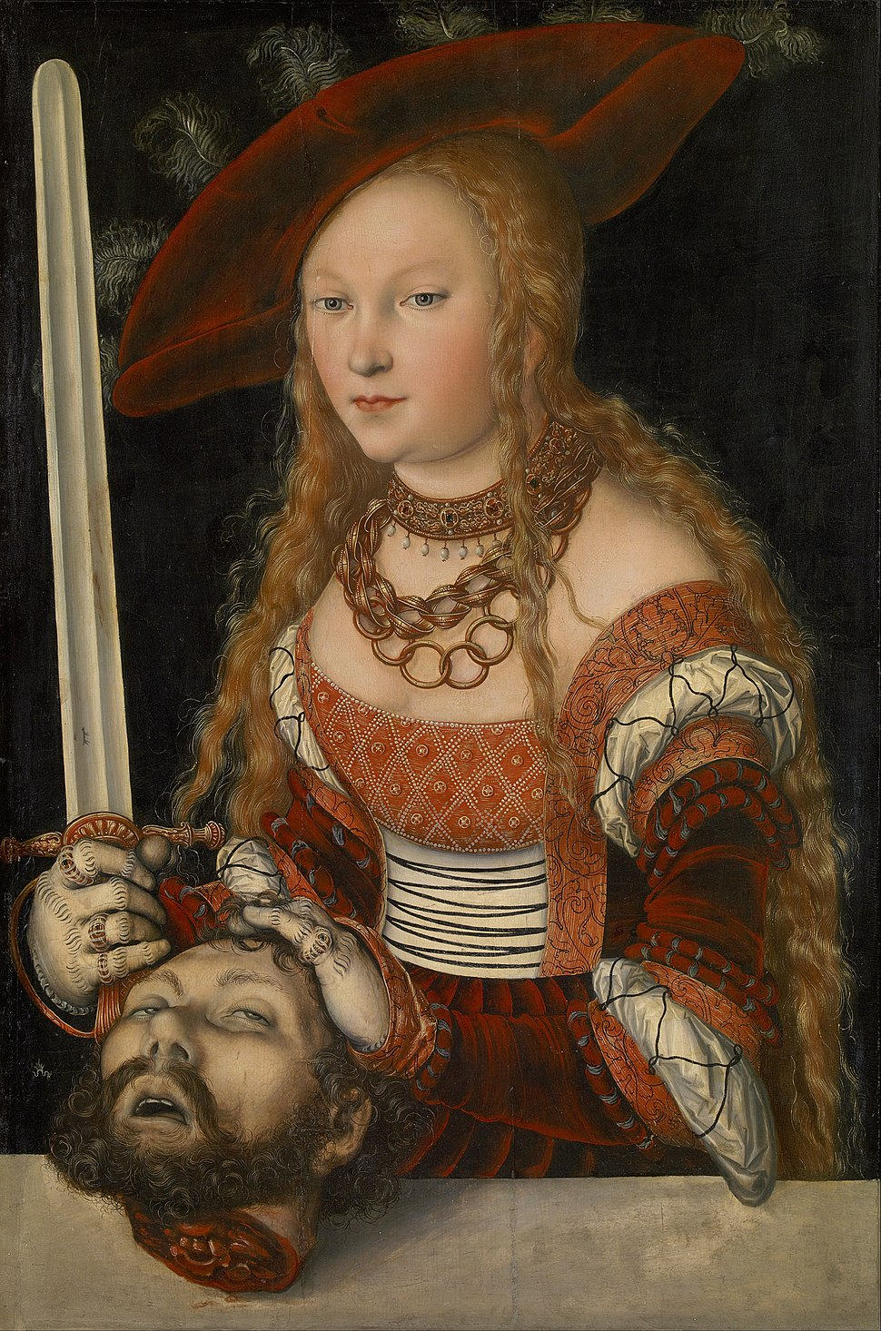 Lucas Cranach the Elder - Judith with the Head of Holofernes - Google Art Project