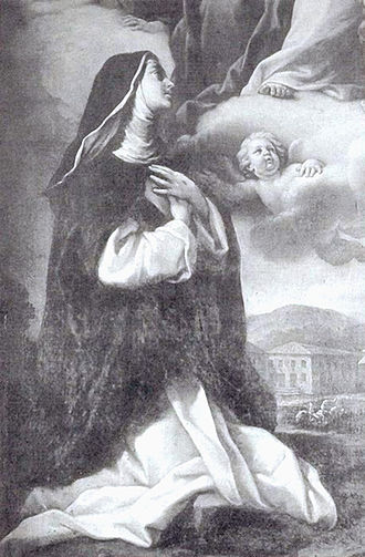 Lucy Brocadelli - Blessed Lucy Brocadelli depicted in a fresco in her burial chapel in the former Cathedral of Narni