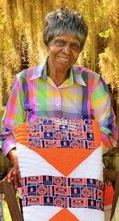 Lucy Mingo American quilt maker