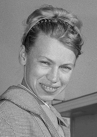 Ludmila Belousova - Ludmila Belousova in 1965