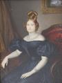 Luisa Carlota, hija de Francisco I de las Dos Sicilias, 1830, Luis de la Cruz y Ríos.png