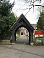 Lych Gate at St Michaels, Tettenhall - geograph.org.uk - 410591.jpg
