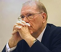 photograph of Lyndon LaRouche
