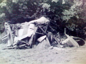 Don Stroud - Lynn Garrison, Don Stroud crash September 16, 1970 SV4.C Stampe