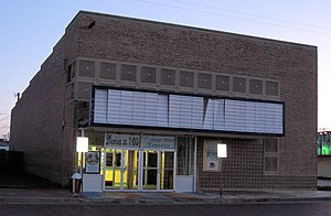 Rex Linn - The Lyric Theater in Spearman, Texas, where Linn watched movies as a child