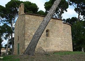 Mèze - St-Jean-de-la-Garrigue - église romane.